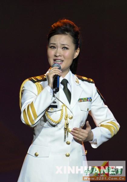 音 唱民歌 访总政歌舞团青年歌唱演员雷佳